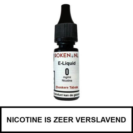 Donkere Tabak e-liquid