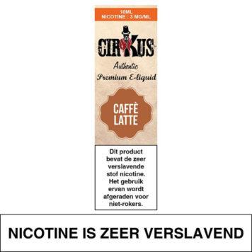 Authentic Cirkus Caffe Latte