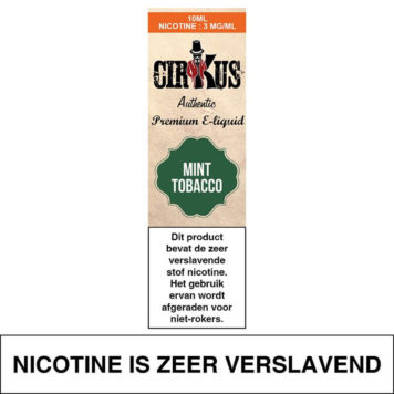 Authentic Cirkus Mint Tobacco