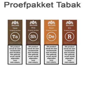 Proefpakket Millers TABAK
