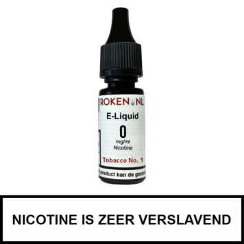 Tobacco No. 1 e-liquid