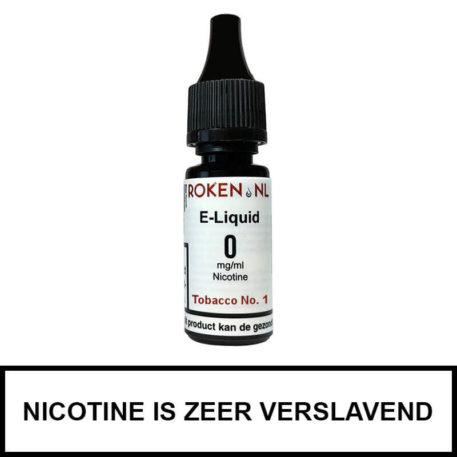 Tobacco No. 1 e-liquid