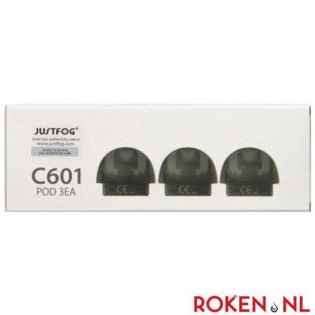 Justfog C601 Pod (3 Stuks)