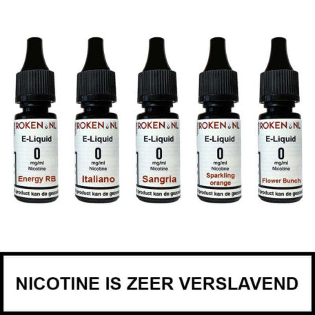 Proefpakket Dranken Roken.nl