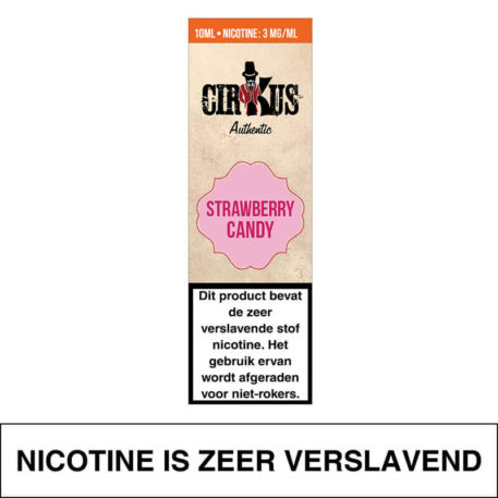 Cirkus Authentic – Strawberry Candy