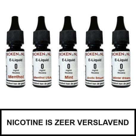 Proefpakket Menthol Roken.nl