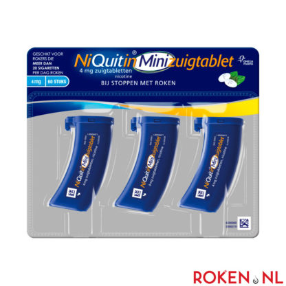 NiQuitin Mini zuigtablet 4 mg