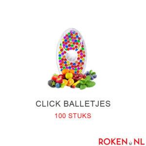 Click balletjes